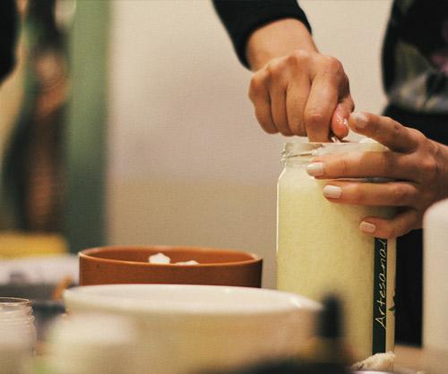 preparación de cosmeticos organicos